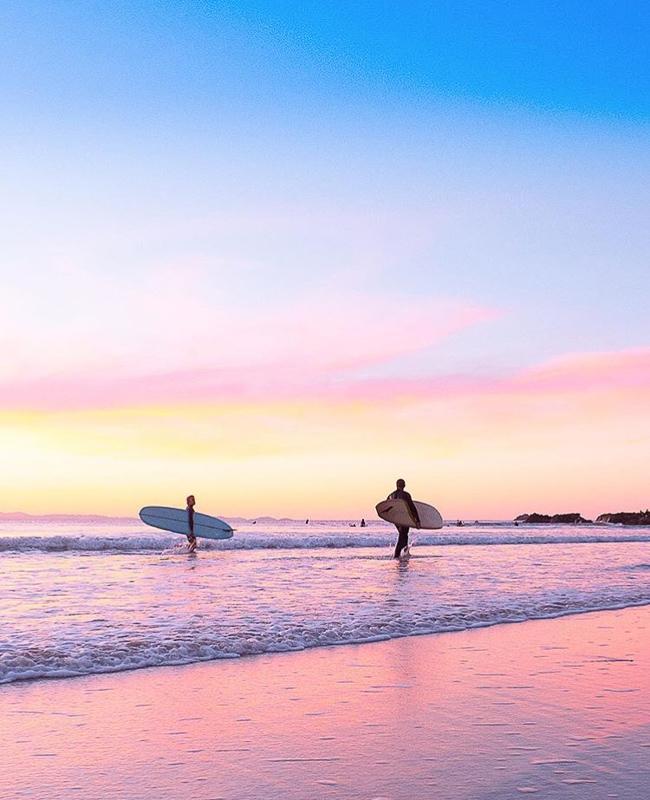 Byronbay-beach-sunset